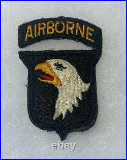 101st Airborne Division Patch WWII US Army P2492