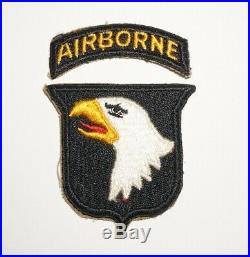 101st Airborne Division Patch WWII US Army P3990
