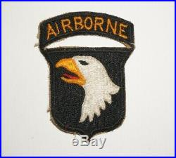 101st Airborne Division Patch with tab WWII US Army P0710