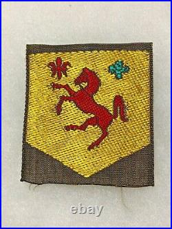 113th Cavalry Group WWII Theater Made Patch US Army P2373