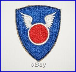 11th Airborne Division Patch ERROR Variation No numbers WWII US Army P0269