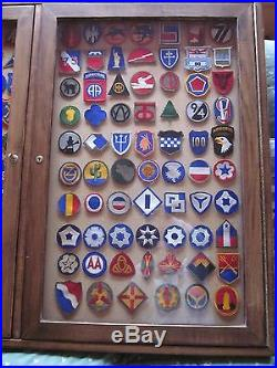 142 Ww2 U. S. Army Patches Armies, Corps, Inf/div, Ground Units Look