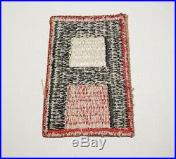 1st Army Red Border Patch Rare Variation Post WWII US Army P9917
