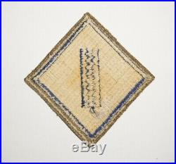 1st Service Command OD Border RARE Patch WWII US Army P8921