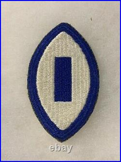 1st Service Command RARE 1st pattern patch Greenback WWII US Army P2836