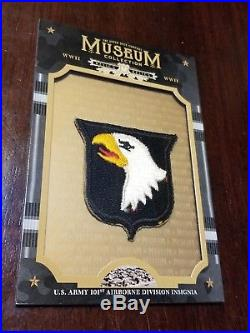 2017 Goodwin Champions World War II 101st Airborne Insignia Patch Us Army Museum