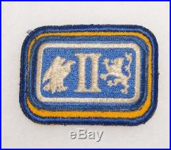 2nd Corps Cavalry Patch WWII US Army P4835