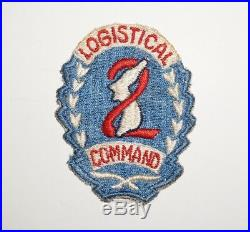 2nd Logistical Command Korea Patch With Price Tag Post WWII US Army P6408