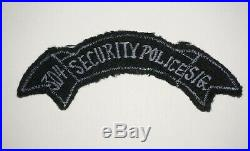304th Signal Battalion Security Police Patch US Army Korea Patch Post WWII C1188