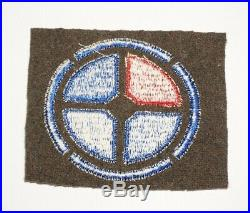 35th Infantry Division Patch Inter-war Pre WWII Wool Felt US Army P9801