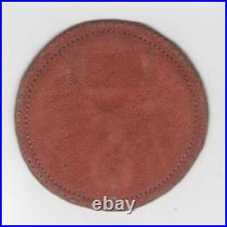 3 WW 2 US Army Air Force10th Air Force Leather Patch Inv# V994