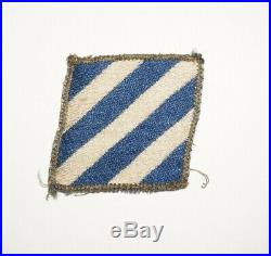 3rd Infantry Division Italian Theater Made Patch US Army WWII P0806