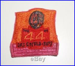 44th Ordnance Company Korean Made Pocket Patch Post WWII US Army P0623