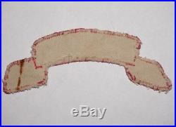 473rd Engineer Scroll Tab Theater Made Patch Italy WWII US Army P4933