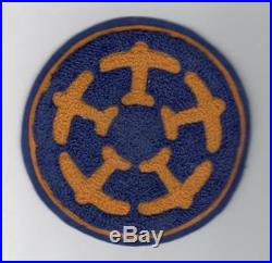 4-3/4 Pre WW 2 US Army Air Corps 5th Air Base Squadron Patch Inv# L242