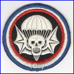 4 WW 2 US Army 502nd Parachute Infantry Regiment Patch Inv# C338