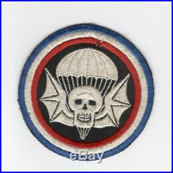 4 WW 2 US Army 502nd Parachute Infantry Regiment Patch Inv# H501