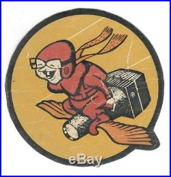 5-1/2 WW 2 US Army Air Force 4th Photographic Charging Squadron Patch Inv# L043