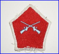 5th Regimental Combat Team theater made patch Variation Post WWII US Army P8753