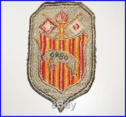 6980th Labor Service Group Patch Post WWII Occupation US Army C1358