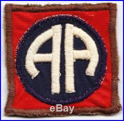82d Division/82d Infantry Division 1920's 1930's early WW2 US Army