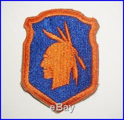 98th Infantry Division Green back Patch WWII US Army P1735
