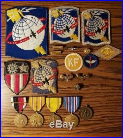 AACS Army Airways Communication Systems VETERAN GROUPING! WW2 US Air Corp