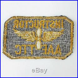 AAF TTC Technical Training Command Instructor US Army Air Force Patch 40's WWII