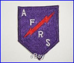 AFRS Armed Forces Radio Service Theater Made Patch WWII Occupation US Army P9418