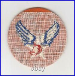 ASMIC Most Wanted Rare Reversed Color WW 2 US Army Air Force Patch Inv# H777