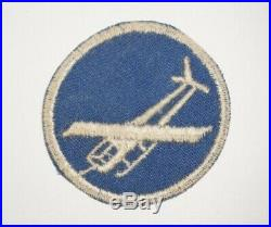 Airborne Glider Infantry Cap Patch Officer Paratrooper WWII US Army P0032
