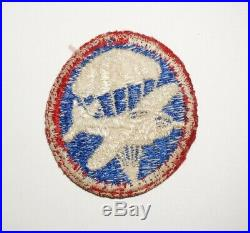 Airborne OfficerCap Patch Bomber Variation WWII US Army P0462