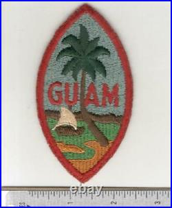 All 7 Known Variations WW 2 US Army Guam Command Patch Inv# N062