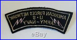 American Forces Network AFN US Army Navy WWII Wool / Felt Army Patch