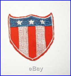 Army Physical Training Theater Made Patch WWII US Army P0904