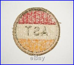 Army Specialized Training Program 1st Pattern Patch WWII Rare US Army P9352