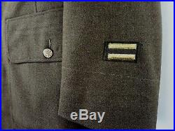 Authentic WW2 US 20th Army Air Force Dress Jacket with Patches, Ribbons, & Pins