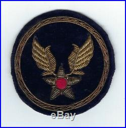 BULLION U. S. Army Air Force Theater Made (Brazil or Italy) Patch Original WW2