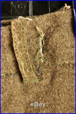 Boy's 1940s WWII US Army Uniform sz 5 40s Vtg WW2 Children's Hat Pins Patches