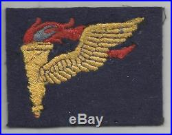 British Made WW 2 US Army Airborne Pathfinder Wool Patch Inv# A458