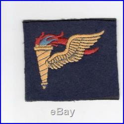 British Made WW 2 US Army Airborne Pathfinder Wool Patch Inv# G958
