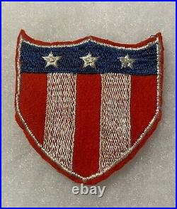 ETO Physical Training Patch Theater Made Patch WWII wool US Army P2462