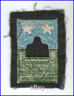 EXTRA Rare Pre WW 2 US Army Chief Of Infantry Combat Team Cuff Patch Inv# M022