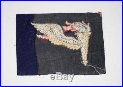 English made WWII US Army Airborne Pathfinders Wing Insignia Patch UNTRIMMED