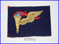 English made WWII U. S. Army Airborne Pathfinder Wing Insignia Badge Untrimmed