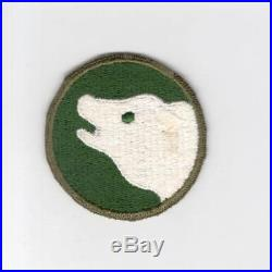Extremely HTF German Made US Army 104th Infantry Division Patch Inv# G050