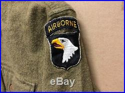 Genuine Rare Us Army Ww2 101st Airborne Screaming Eagle Patch Ex Condition