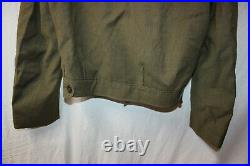 Genuine US Military Issue WW2 WWII Coat IKE Eisenhower Jacket wth Patches Army 1