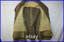 Genuine US Military Issue WW2 WWII Coat Jacket with Patches Army Airforce i7