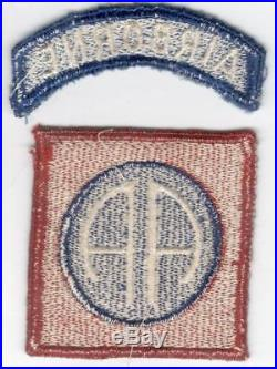 German Made US Army 82nd Airborne Patch & Tab Inv# V612
